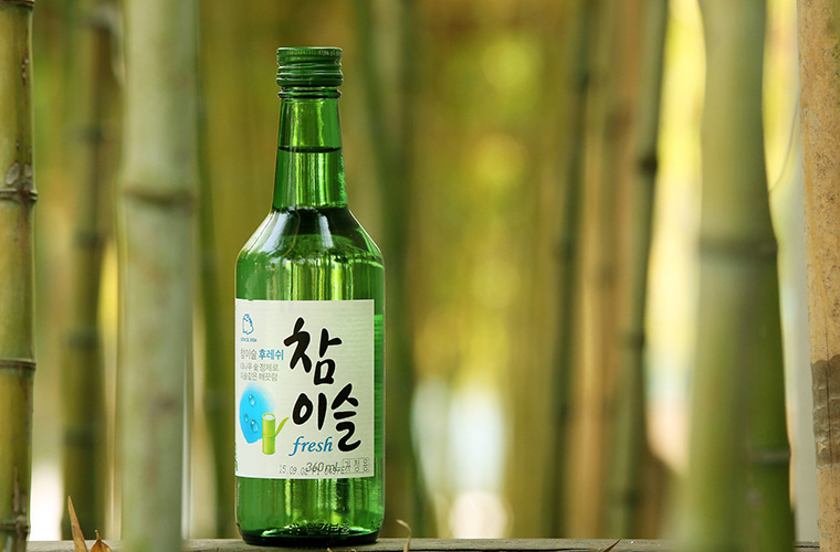 Soju in South Korea!